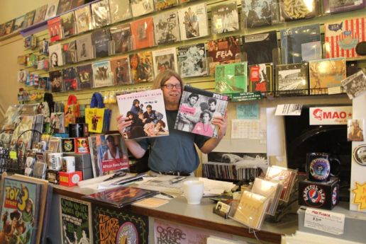 Port Townsend Vinyl Record Store